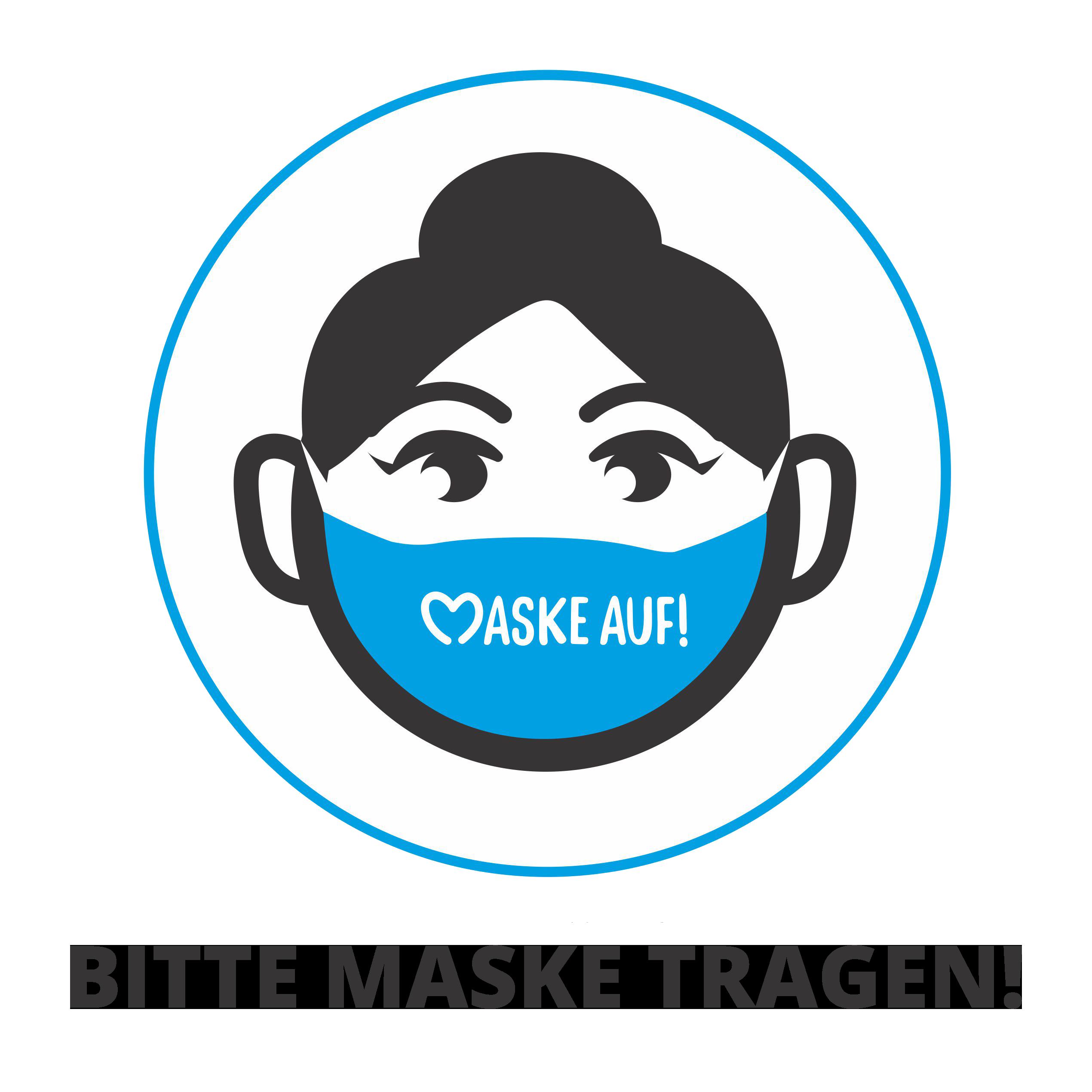 masken-auf Masken tragen